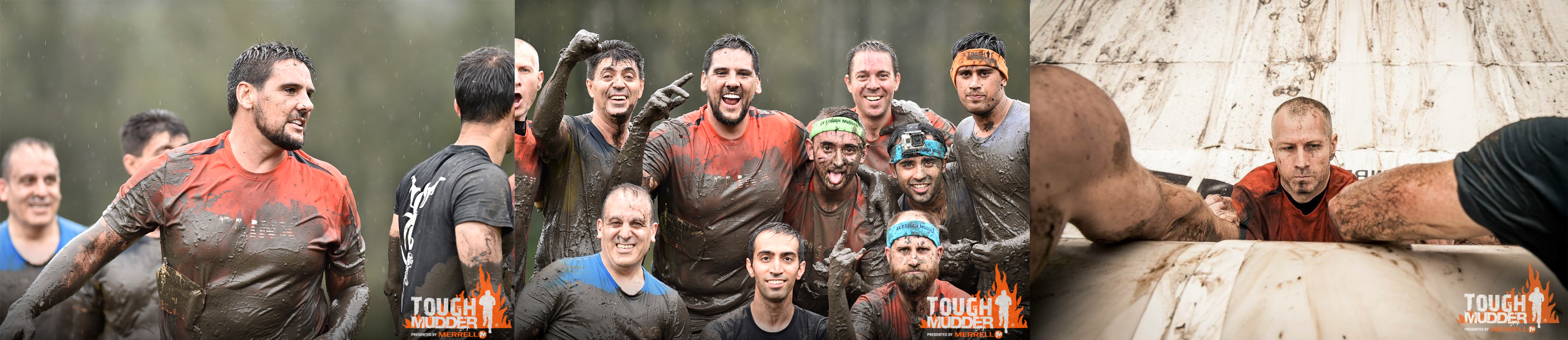 Tough Mudder 2016 - Outcomex Team in Action