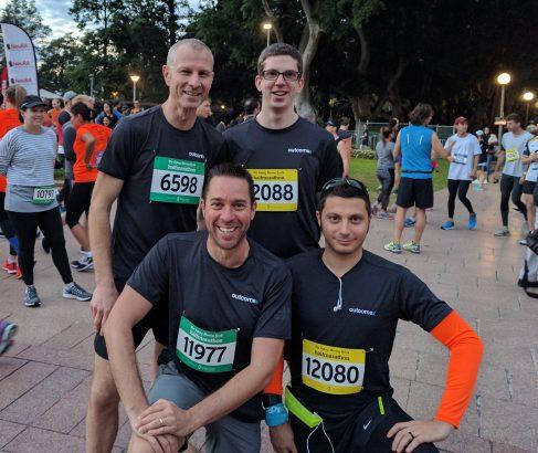 Sydney Morning Herald Marathon 2017 - Outcomex Runners
