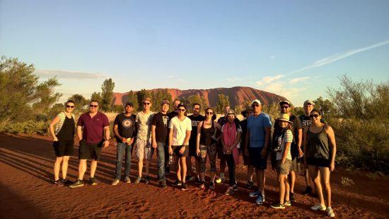 Nicky Delgado on Tour with Dicker Data in Uluru