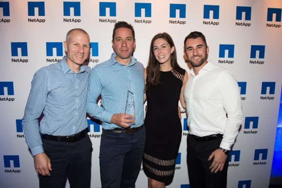 Outcomex announced winner of 'Converged Infrastructure Excellence' at NetApp Partner Awards