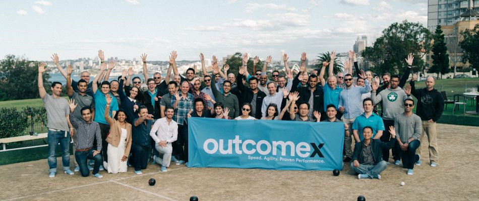 Outcomex Barefoot Lawn Bowls, Celebrating EOFY 17-18