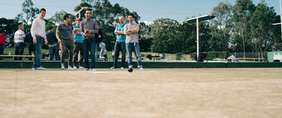 Outcomex Barefoot Lawn Bowls