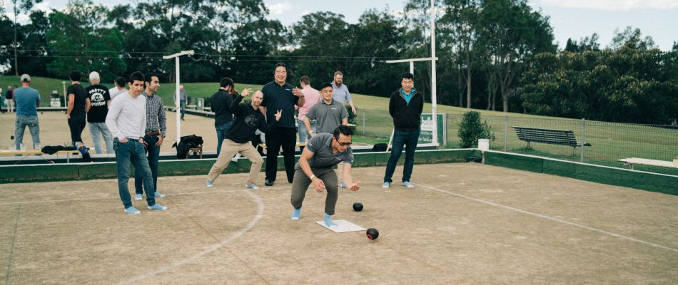 Outcomex Barefoot Lawn Bowls