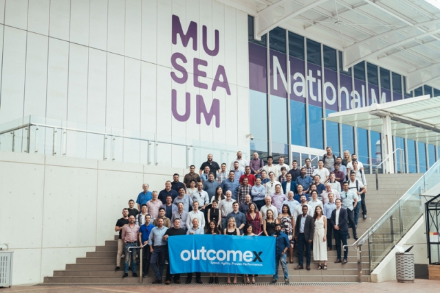 Outcomex team at Maritime Museum